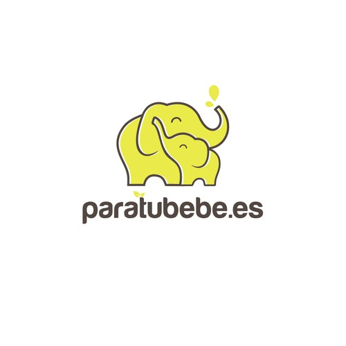 Baby products ecommerce logo