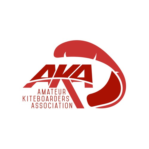 Logo design for AKA - Amateur Kiteboard Association