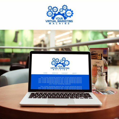 Design for Web Page, Header and Banner.