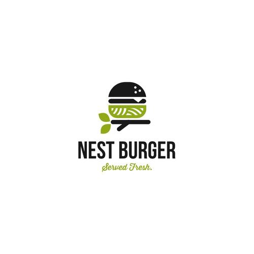 logo for burger store