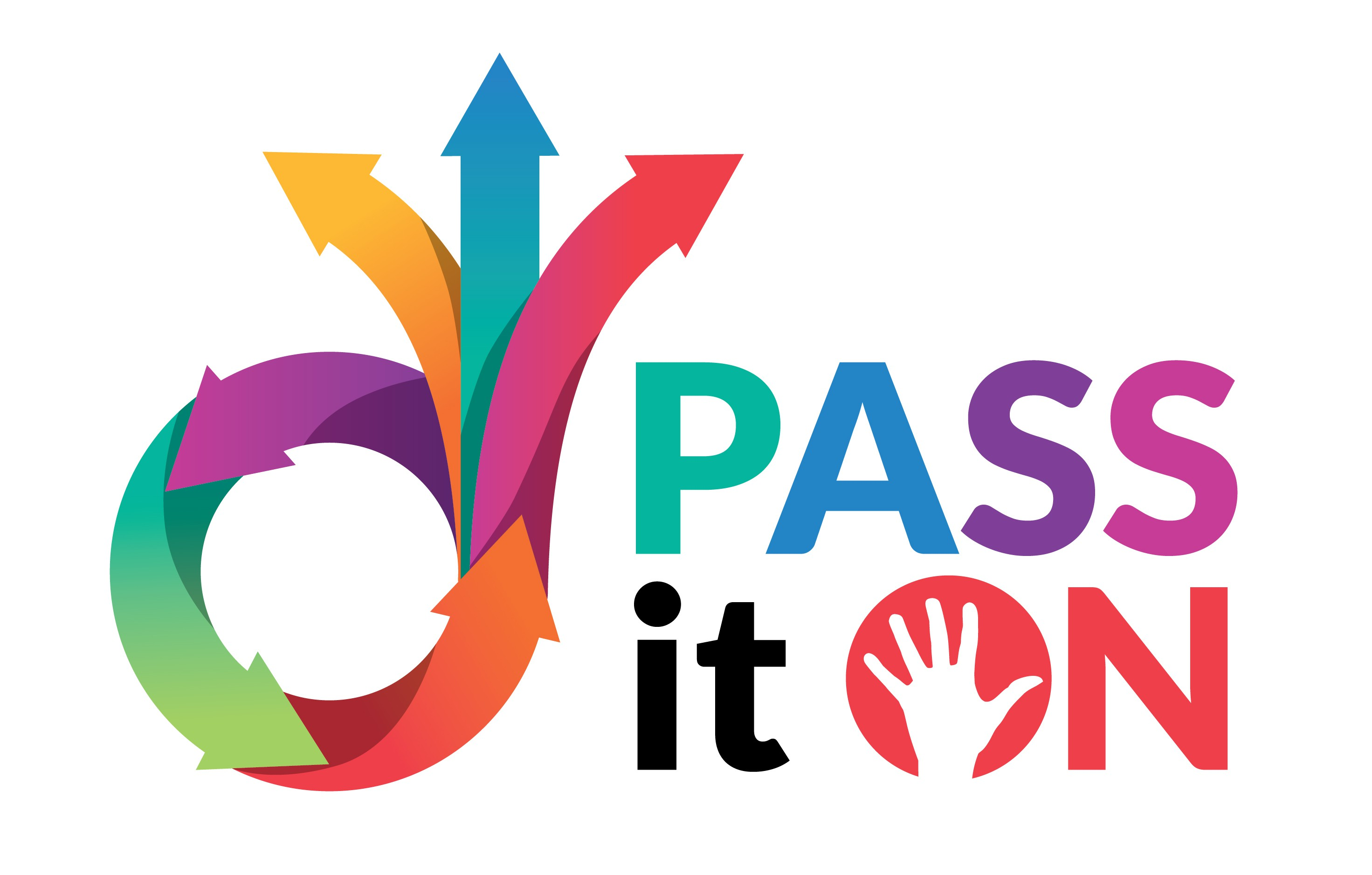 Pass It On - Logo for college (to go on the flyer you are designing)
