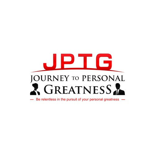 Red Text Logo Concept for JTPG