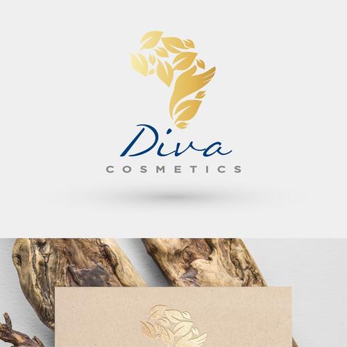 Logo Diva cosmetics
