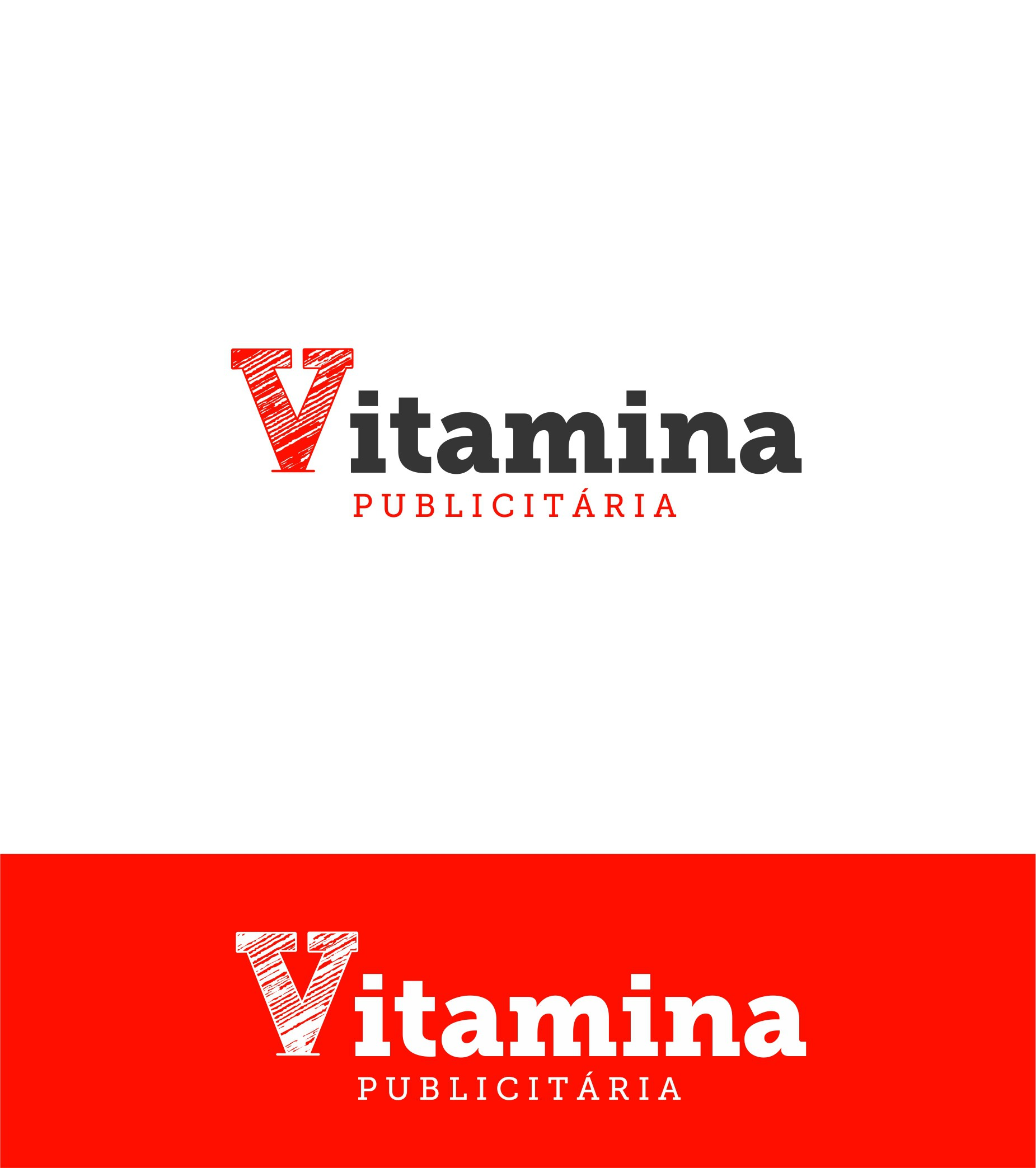 New logo for a famous blog in Brazil: Vitamina Publicitária