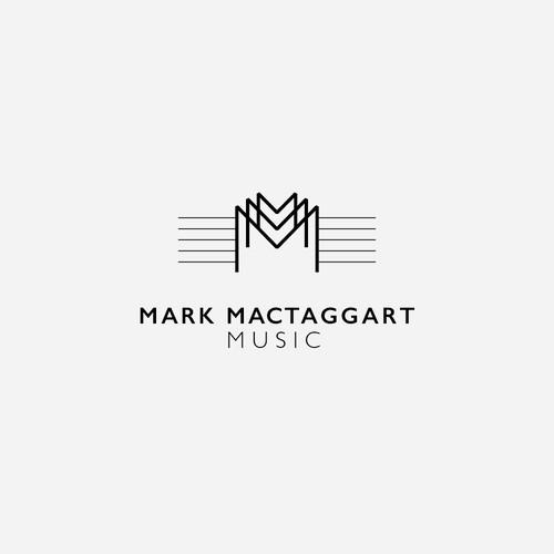 Logo design for a Music Producer and Composer