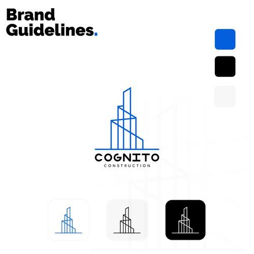 Cognito Construction Logo design Concept