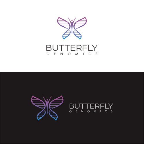 logo for butterfly