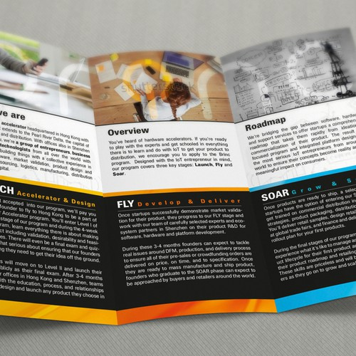 Innovative and creative company Brochure