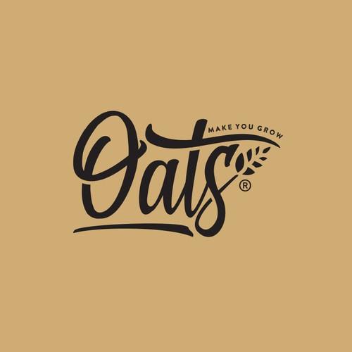 Typography based logo