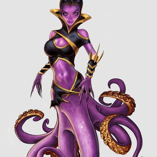 Octopus girl