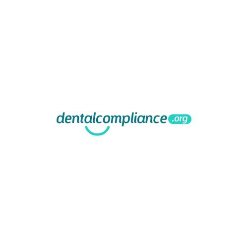 Minimal logo for a dental website