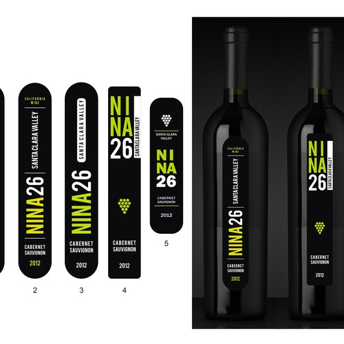 Create labels for NINA 26 wine