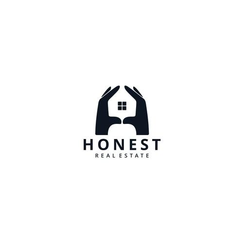 Honest Real Estate Logo Concept.