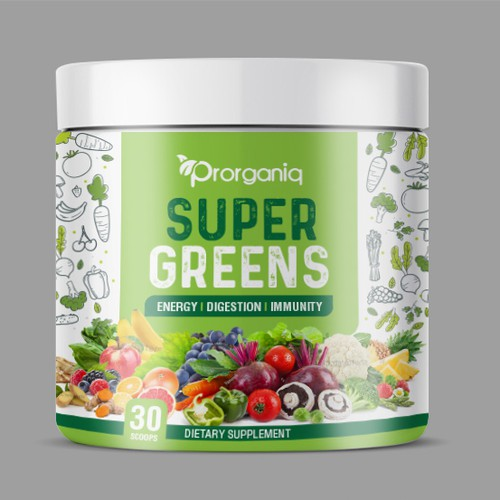 Super Greens Dietary Supplement