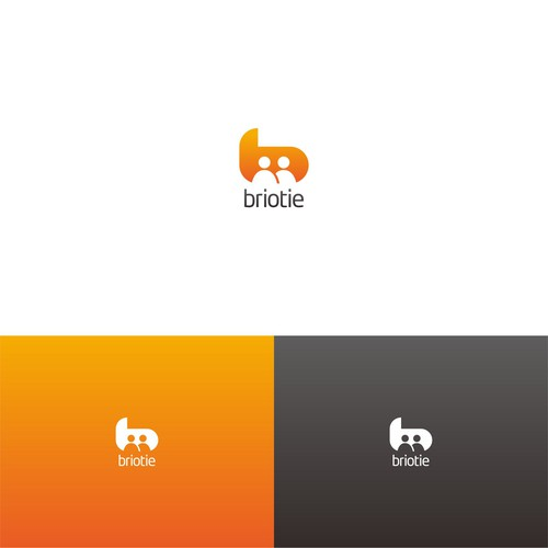 Create a logo symbolizing connection for Briotie