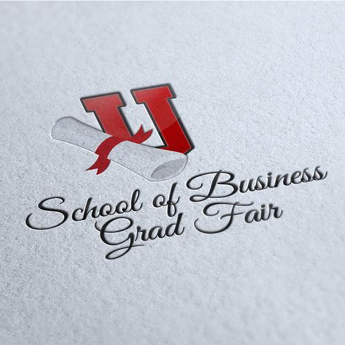 Logo for a Business Grad Fair
