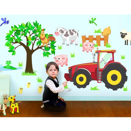 A Wall Decal for kids