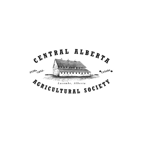 Logo concept for Central Alberta Agricultural Society, Canada
