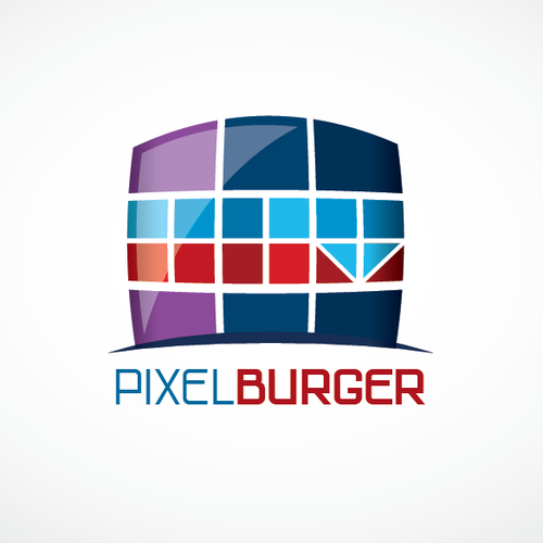 create a standing out noticeable logo for a burger restaurant.