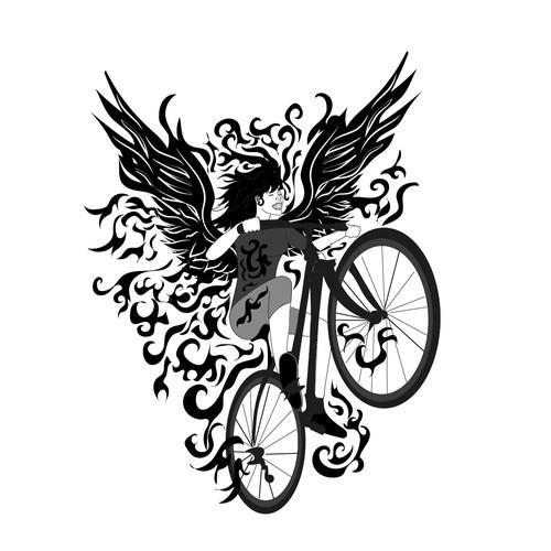logo for biking clothes