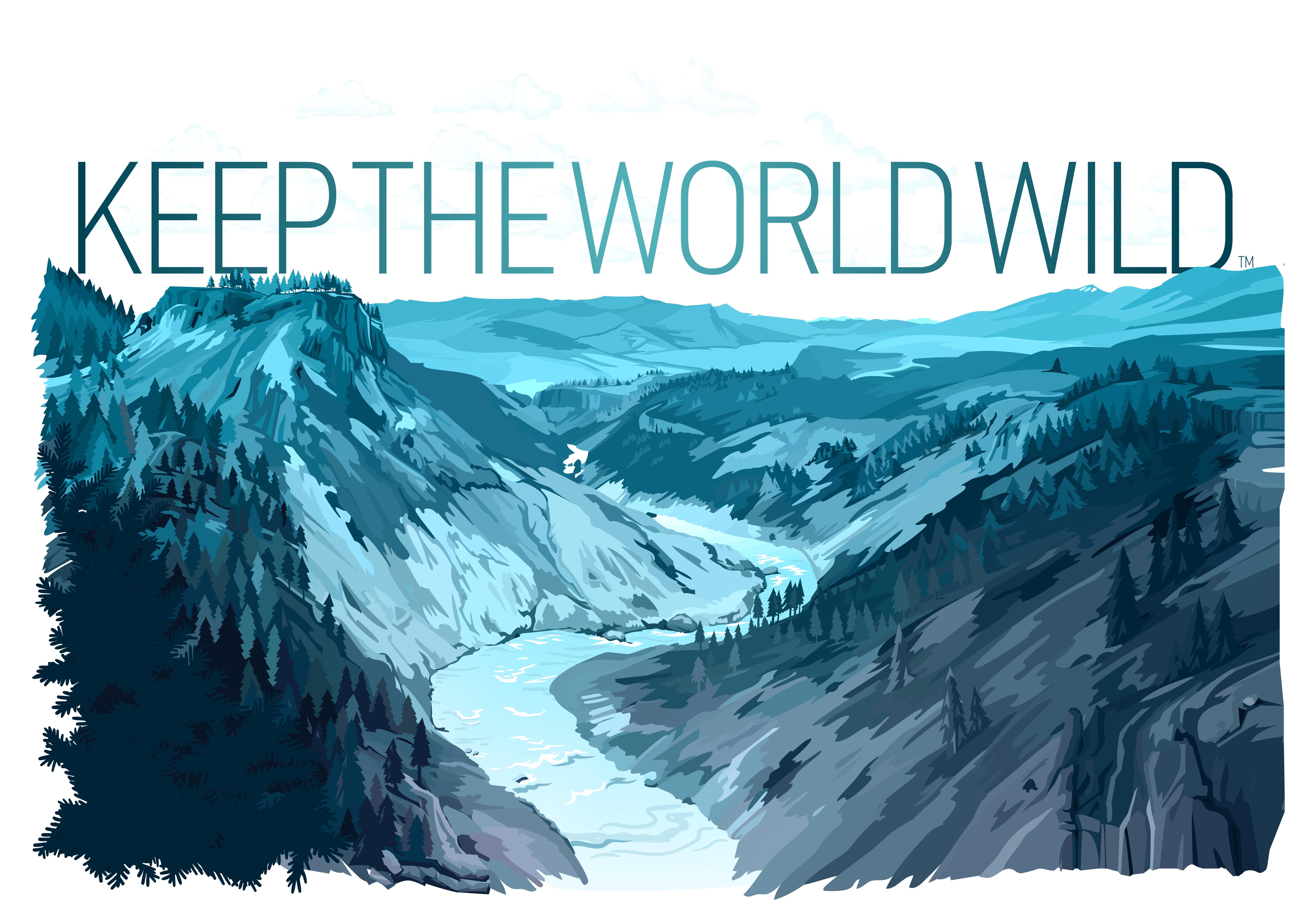Keep The World Wild tee-shirt designs