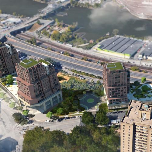 Tower renderings
