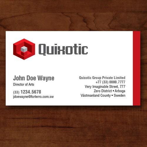 Logo & Business Card for an App Company