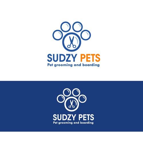 pet grooming logo