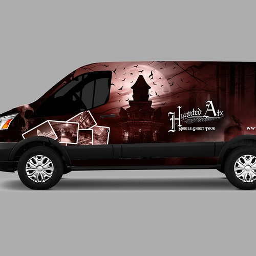 Horror Vehicle Wrap Design