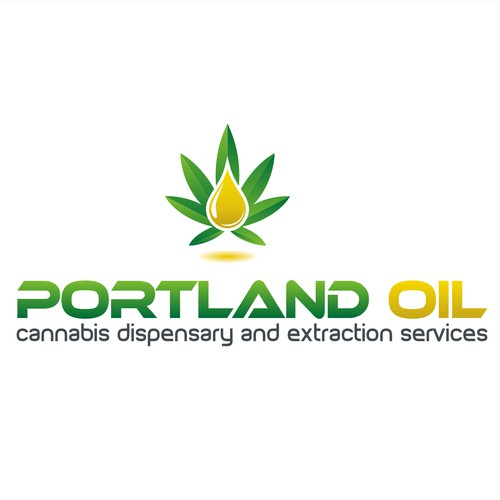 Oil Marijuana Logo Concept for Portland Oil