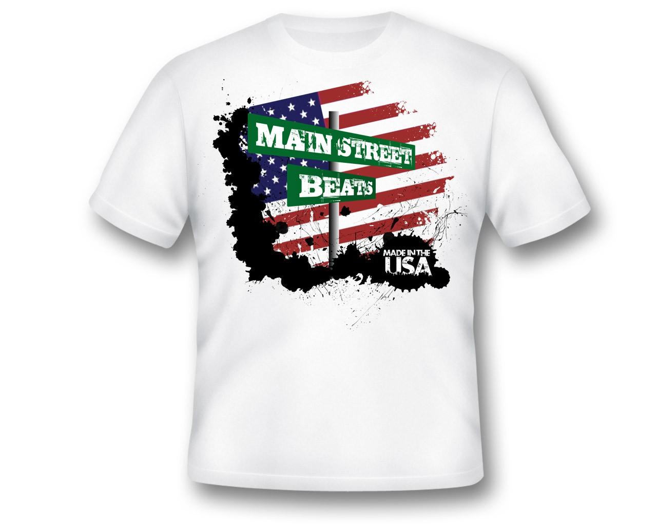 Create the next t-shirt design for Main Street Beats