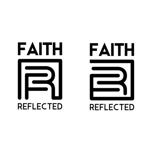 Faith Reflected / logo for Christian t-shirt store