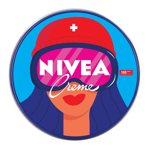 Concept for NIVEA Creme Swiss Anniversary Edition packaging