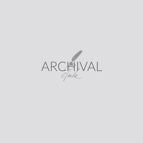 Logo for an online art gallery