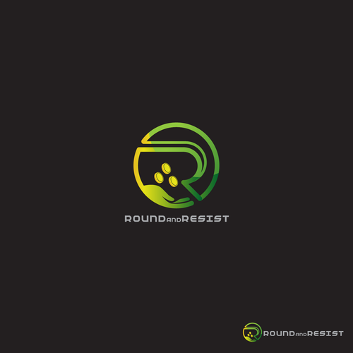 symbol and iconic logo for Round and Resist