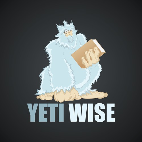 Yeti Wise logo -Need to stand out in a market full of conservative brands and boring people in suits