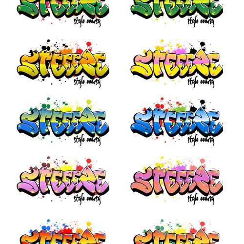 GET YOUR GRAFFITI ON! DESIGN MY LOGO FOR STEEEZE.COM