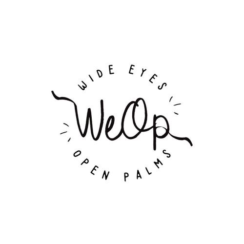 Logo for an organic, green coffee & tea shop