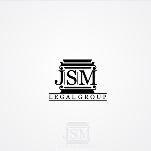 professional but young stylized law firm logo for use on letterhead and business cards, etc.