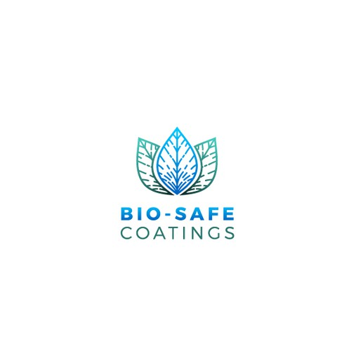 Modern logo design for Bio-Safe coatings