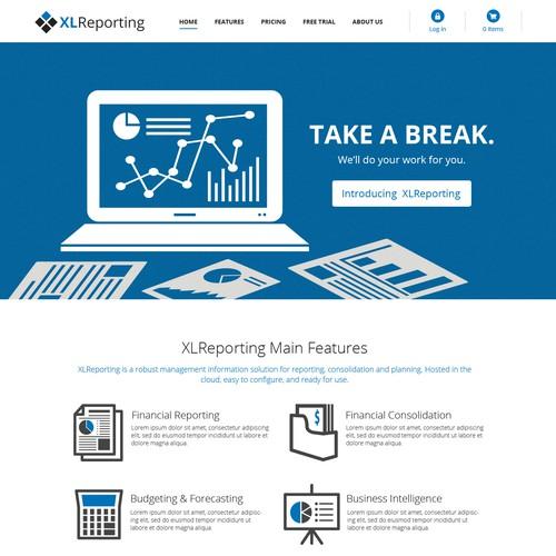 Cloud Based Business Website