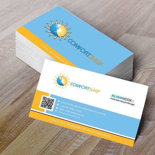 Comfort Sleep Business Card