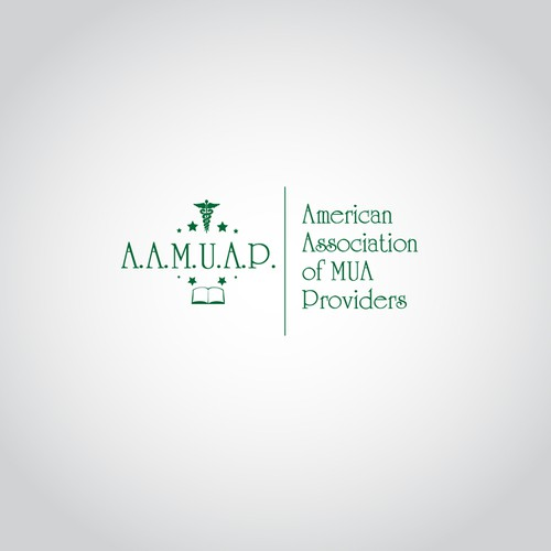 Create the next logo for AMERICAN ASSOCIATION OF MUA PROVIDERS