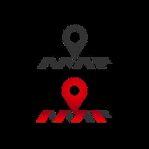 Map Logo by Skn DESIGN