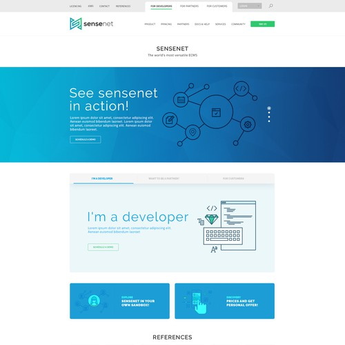 Sense net - Home Page