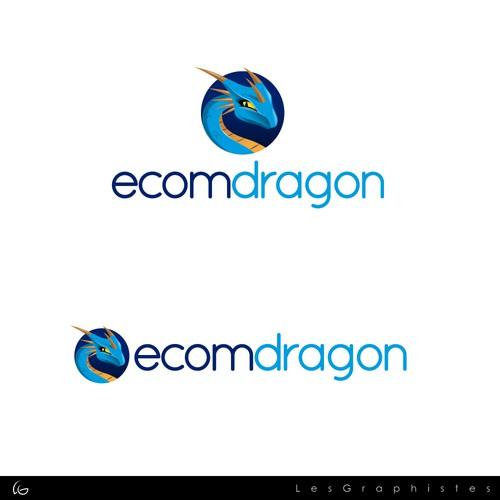 Logo for a e-commerce website.