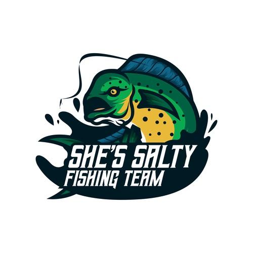 Fishing Team MAscot Logo