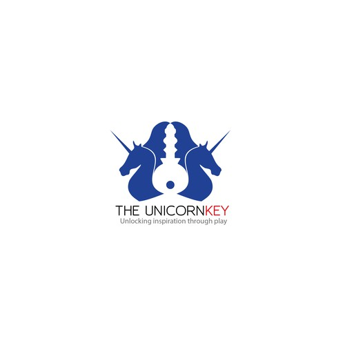 Logo for key unicorn