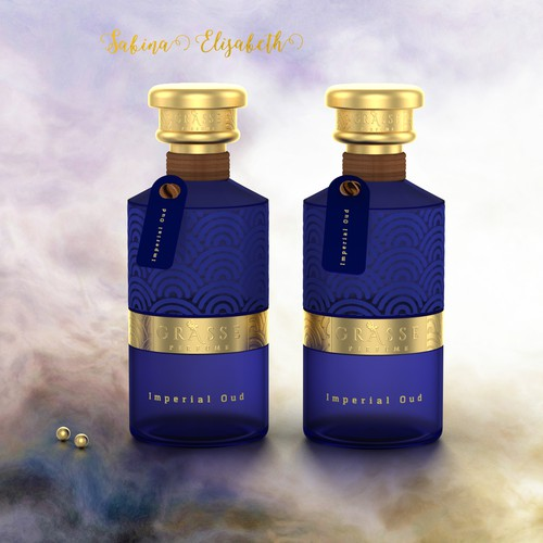 Luxury perfume bottle for Grasse