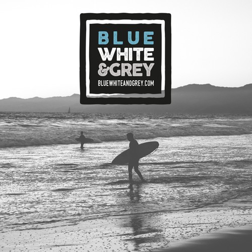 Design a recognisable logo for an online Surf Clothing Store